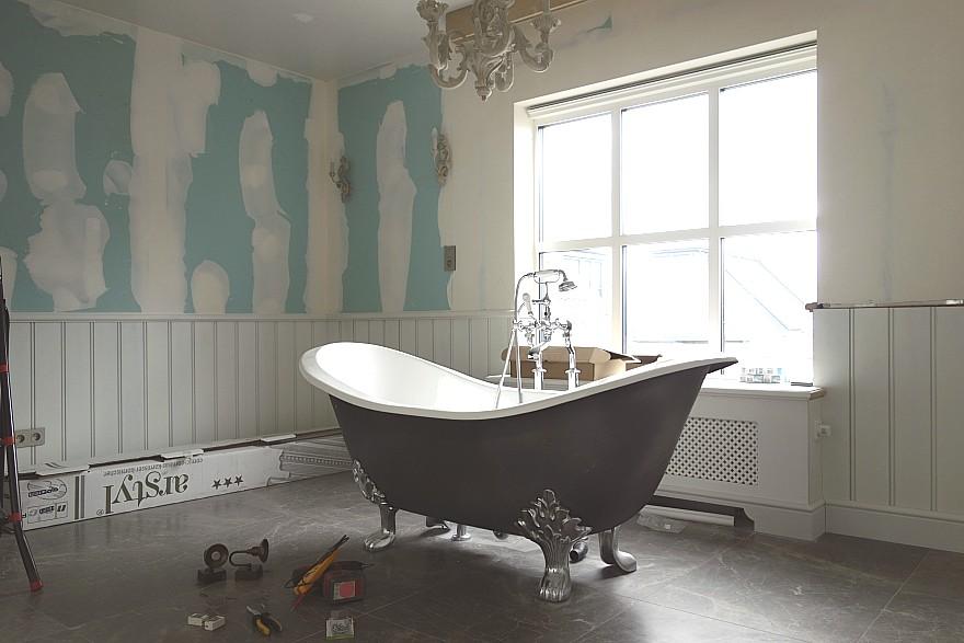 Badkamer engelse stijl u devolonter