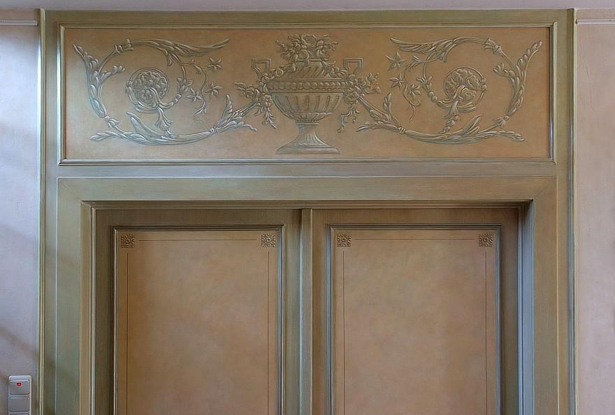 Diverse speciale schilder en decoratietechnieken gerealiseerd door het atelier van hoef - Exotisch onder wastafel houten meubilair ...