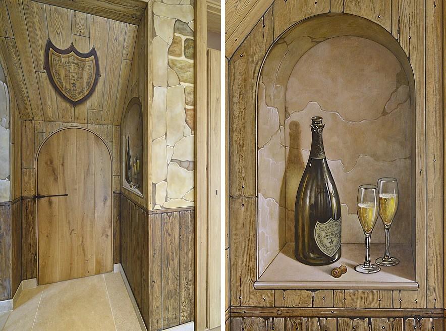Muurschilderingen van het atelier van hoef uit het jaar 2014 pagina 6 - Decoratie voor wijnkelder ...