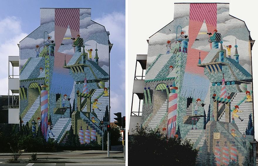 Muurschilderingen en recent werk van het atelier van hoef uit het jaar 2012 pagina 6 - Nieuw muurschildering ...