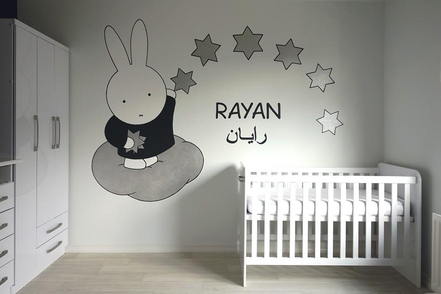 muurschildering babykamer nijntje ~ lactate for ., Deco ideeën