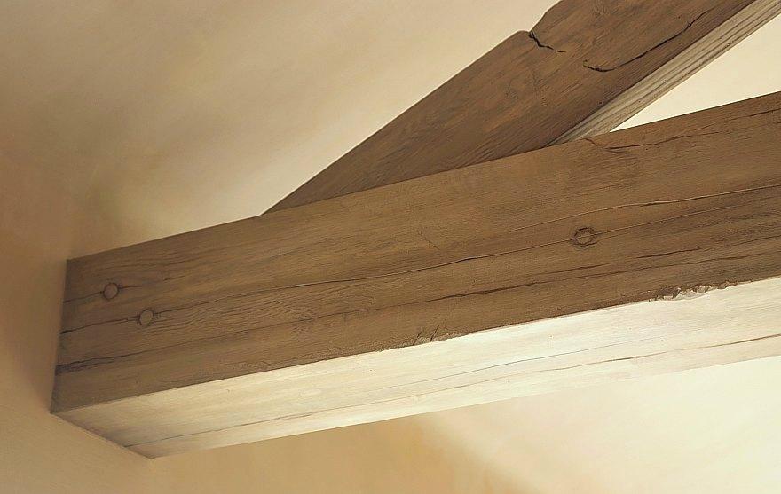 Schildertechnieken en ander artistiek recent werk van het atelier van hoef uit het jaar 2010 - Plafond met balk ...