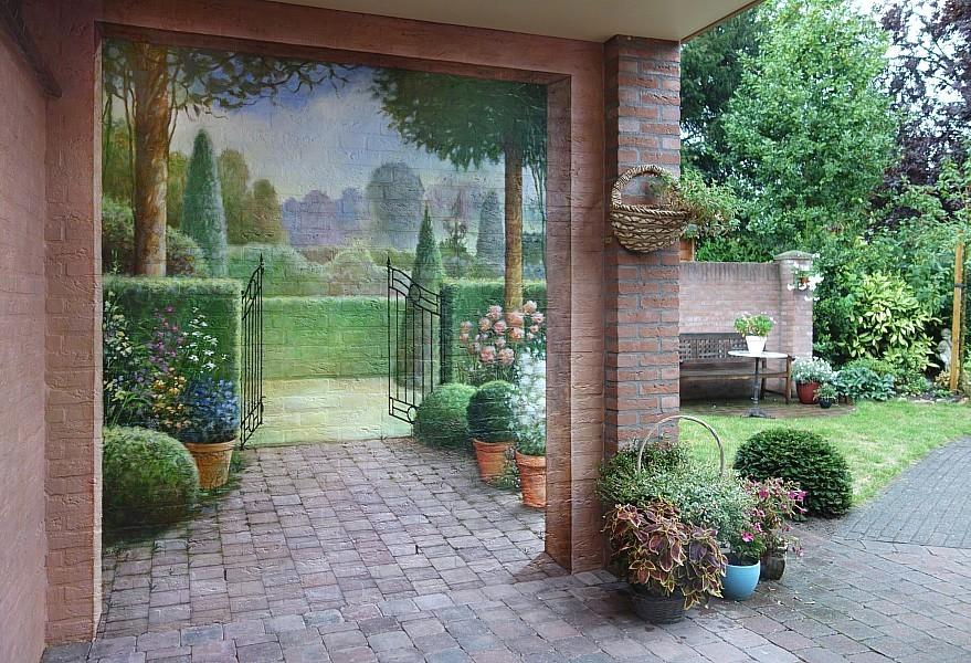 Muurschilderingen En Recent Werk Van Het Atelier Van Hoef