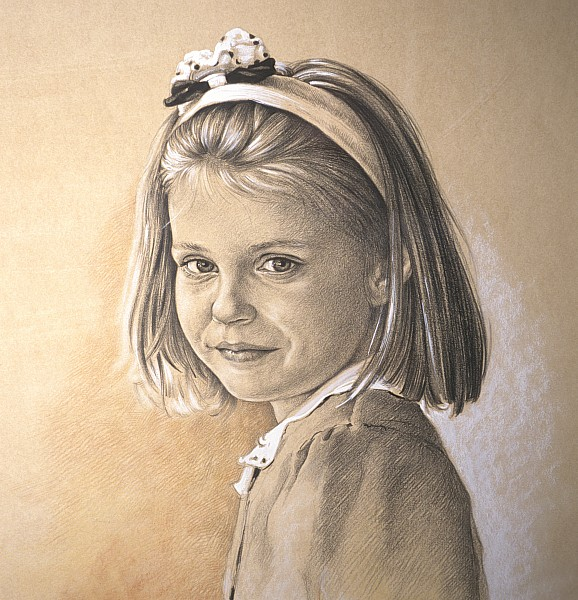 Kinderportret Ann